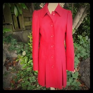 """Jackie O"" Red Coat"